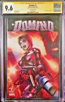 MARVEL Comics DOMINO #1 CGC SS 9.6 Greg Horn X-MEN CABLE DEADPOOL WOLVERINE X-23