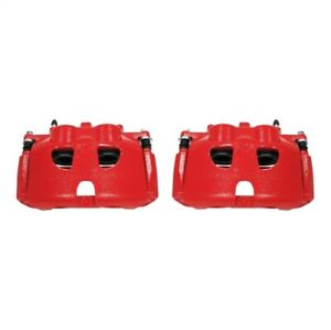 Power Stop S5236 Red Powder Coated Calipers For 10 Ford F150 4.6L NEW