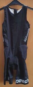 Bioracer Tri Team Suit Damen Black/White Größe S Triathlon EDK06.105