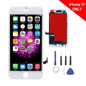 Pantalla Para iPhone 7 Plus Remplazo Blanca LCD Tactil Digitalizador Reparaci