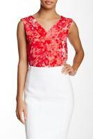 T Tahari sleeveless  Floral Knit top M,XL
