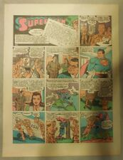 Superman Sunday Page #198 by Siegel & Shuster from 8/15/1943 Tab Page:Year #4!