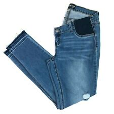 Peoples liberation skinny jeans released hem maternity size 14