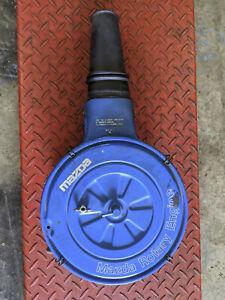 1980 Mazda RX7 FB Carburetor air cleaner filter housing with underlid filter
