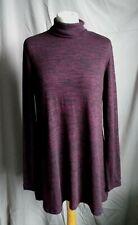 M&S Collection Purple Long Lagen look Jumper size 14