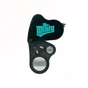 Mr. Minty Trading Card Loupe 20 x - 30 x  Magnifier w/ Led Light