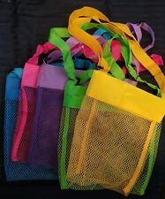 80 Blank Sea Shell Bags New Mixed Colors Lot For Htv Free Shipping