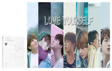 BTS V Ver LOVE YOURSELF Her 5th Mini Album BANGTAN BOYS CD+Poster+Photocard+Gift