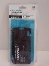 Lenmar Motorola Atrix 4G Cell Phone Extended Battery CLZ468M 3.7V 11.1Wh 3000mAh