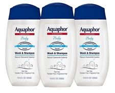 Aquaphor Baby Wash and Shampoo 16.9oz (3 Pack)