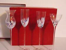 NEIMAN MARCUS SET OF 4 ELEGANT WINE GLASSES