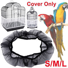 More details for nylon pet bird cage cover mesh net shell skirt seed catcher decoration tidy
