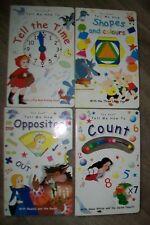 Van Gool-lot of 4 children educational books.2y+.Used