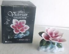 Beautiful Victorian Porcelain Forest Lily Figurine, New in Box