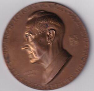 BAYERN FREISING UND SUDETENLAND Bronzemedaille 1951 (A. Hartig) DR. JUR. RUDOLF