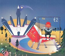 2010 Europa CEPT - Kosovo - souvenir sheet [perforation 13 1/4]