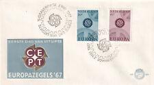 (40213) Netherlands FDC EUROPA 1967