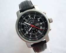 Audi Classic Car Accessory Motorsport Sport Racing Design Chronograph Watch