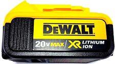 1 New Genuine Dewalt 20V DCB204 4.0 AH Battery For Drill, Saw, Grinder 20 Volt