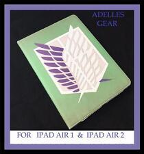 FOR IPAD AIR 1 IPAD AIR 2  COVER/CASE ATTACK ON TITAN GREEN DESIGN