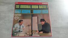 Disque Vinyl Gene Krupa & Buddy Rich – The Original Drum Battle! 711 119