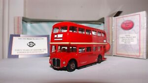 EFE 15635A LONDON TRANSPORT (LOTS) RM CLASS ROUTEMASTER D/D BUS 4MM 1:76 SCALE