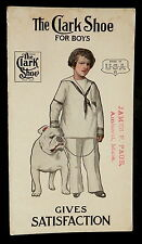 Blotter CLARK SHOE James F Page Amherst Mass BOY in SAILOR SUIT with BULLDOG