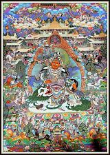 "Mysterious!   ""Thankga Fine Art Print from Tibet""   (35"" High x 25.75"" Wide)"