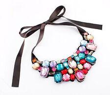 Collier con Multicolore pietre gioiello