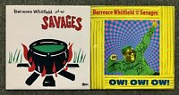 Barrence Whitfield And The Savages - 2 Original Vinyl Album LP Lot Rock Blues NM