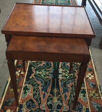 Baker Furniture Company Nesting Tables A Pair