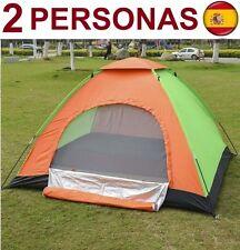 Tienda de Campaña PARA 2 personas impermeable acampad Camping carpa SUPER OFERTA
