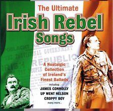 THE ULTIMATE IRISH REBELS SONGS CD VARIOUS ARTISTS
