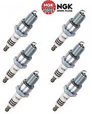 for Audi 200 Mazda Golf Spark Plug Set of 6 6637 NGK Iridium IX Resistor BPR6EIX