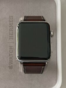 Apple Watch Stainless Steel 42mm Series 2 Hermes With Leather Single Tour Band