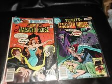 RARE SECRETS OF THE HAUNTED HOUSE #30,39, THE HOUSE OF MYSTERY #264