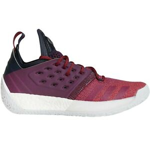 adidas Performance Mens Harden Vol 2 Basketball Trainers Shoes - Purple - 13.5UK