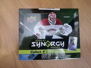 2020-21 Upper Deck SYNERGY NHL Hockey Box - BRAND NEW