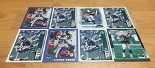 VICTOR GREEN LOT OF 8 FOOTBALL CARDS NEW YORK JETS SAFETY AKRON
