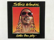 STEVIE WONDER HOTTER THAN JULY MOTOWN VIP-6748 Japan VINYL LP