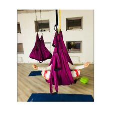 Yoga Hammock Anti Gravity Swing Aerial Sling Inversion Therapy Traction Device