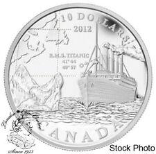 Canada 2012 $10 R.M.S. Titanic Pure Silver Coin