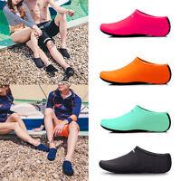 verano Unisex Descalzo Zapatos AQUA AGUA Calcetines Zapatillas Sandalias piel