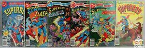 Lot of 28: DC Comics All Star Super Squad Superboy Superman & Green Lantern++