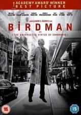 BIRDMAN MICHAEL KEATON ZACH GALIFIANAKIS EDWARD NORTON FOX UK 2015 REG 2 DVD NEW