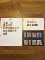 GB Commonwealth QV & KGV South Africa Stamp Collection Off Paper & Hinged