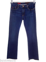 Adriano GOLDSCHMIED Dark Wash Jeans AG  29/33 The Angel Boot Cut  Blue Denim