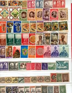 Vatican collection, 60 plus all mint, Mostly MNH   (4555