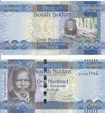 South Sudan - 100 Pounds 2011 Unc - Pick 10ar - serie Zz - replacement
