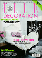 ELLE DECORATION Magazine July 2004 - Pure Comfort, Future Classics